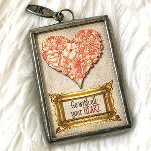 ❤️ Jewel Kade Heart 💗 Pendant ❤️